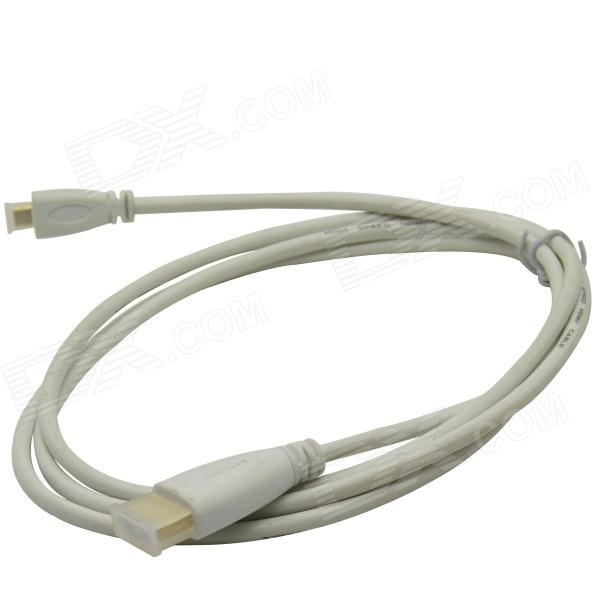 HDMI V1.4 Male to Micro HDMI Male Connection Cable - White (150cm)