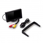 "4.3"" LCD TFT Rear-view Stand Color Security Monitor for Car Backup Camera - Black (PAL / NTSC)"