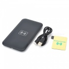 Qi Standard Wireless Transmitter Charger + Receiver for Samsung Galaxy Note 3 N9000 - Black