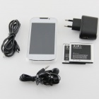 "BML D5(E21) SC6820 Android 4.2.2 GSM Bar Phone w/ 4.0"", FM and Wi-Fi - White"