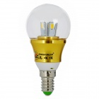 ZHISHUNJIA E14 5W 450lm 10-SMD 5630 LED Cold White Light Bulb(85~265V)