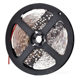 36W 1200lm 3500K 300 x SMD 3528 LED Warm White Car Decoration Light Strip - (12V / 5m)