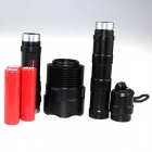 ZHISHUNJIA ZSJ-33 3-LED 2400lm 5-Mode White Flashlight - Black(3 x 18650)