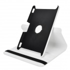 Protective 360 Degree Rotation PU Leather Case for Amazon Kindle Fire HDX8.9 - White