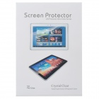 Professional Crystal Clear Screen Guard for iPad 1 / 2 / 3 / 4 - Transparent (5 PCS)