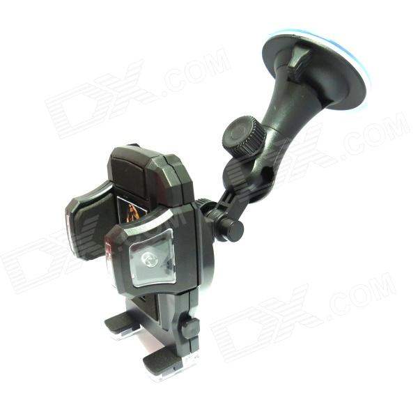 FLY S2122W-C 360 Degree Rotation Car Suction Cup Holder Bracket for Mobile Phone / GPS / MP4 / PDA