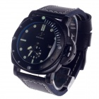 SPEATAK SP9043G Fashionable Automatic Mechanical Men's Wristwatch w/ Simple Calendar - Black