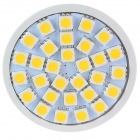 GCD GF3 MR16 5.5W 130lm 2500K 30 x SMD 5050 LED Warm White Light Lamp Bulb - White (12V)