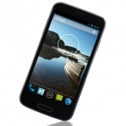 "W500 MTK6582 Quad-Core Android 4.2.2 WCDMA Bar Phone w/ 5.0"", 512MB RAM, 4GB ROM, GPS - Black + Blue"
