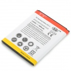 "3.8V ""1800mAh"" Li-ion Battery for Samsung Galaxy S7272 - White + Yellow + Multicolored"