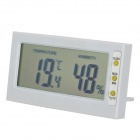 "TLX DTH-06 Home 2.9"" LCD Thermometer - White (1 x AG10)"