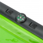 Waterproof Protective Case w/ Compass + Strap for IPAD MINI / RETINA IPAD MINI - Green