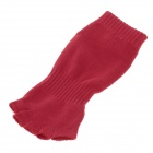 Fashionable Yoga Training Special Toes Socks for Women - Red + Blue (Pair)