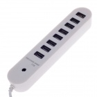 Hi-speed 8-Port USB 2.0 Hub - White (53cm-Cable)