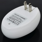 BTY 929 Dual 6FCC 9V Battery Charger - White (US Plugs / 2-Flat-Pin Plug)