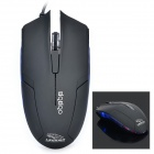 FC-5100 USB 2.0 Wired Gaming Mouse - Black