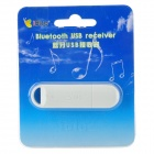 iBlue Bluetooth V3.0 Stereo Receiver Adapter - White