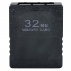 32MB Memory Card for PS2 - Black