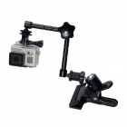 Fat Cat Advanced Clamp Mount w/ Extension Magic Arm for Gopro Hero 4/ 3+/3/2/SJ4000/Universal Cameras
