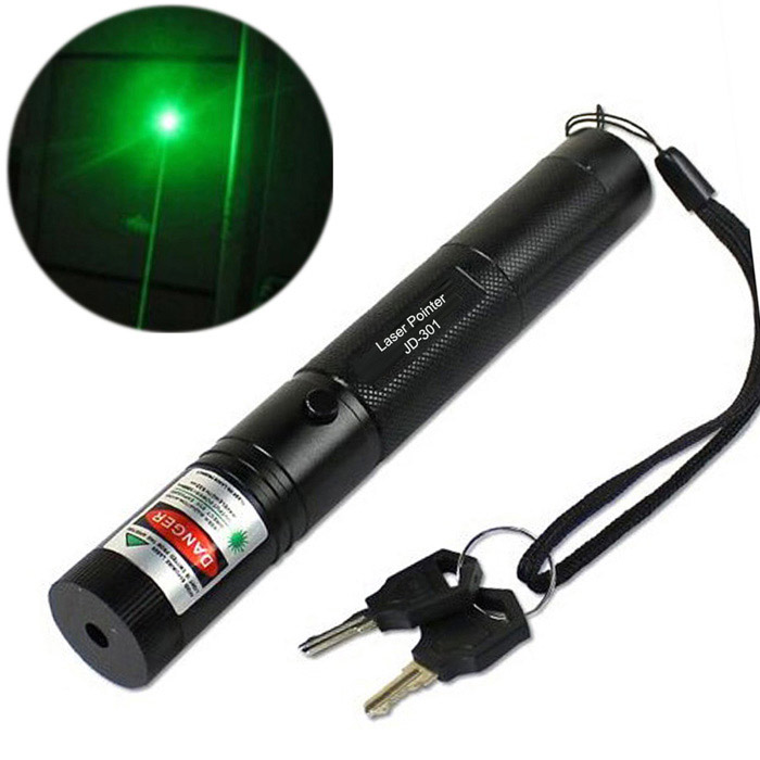 G301 532nm Visible Adjustable Beam Green Laser Pointer Pen