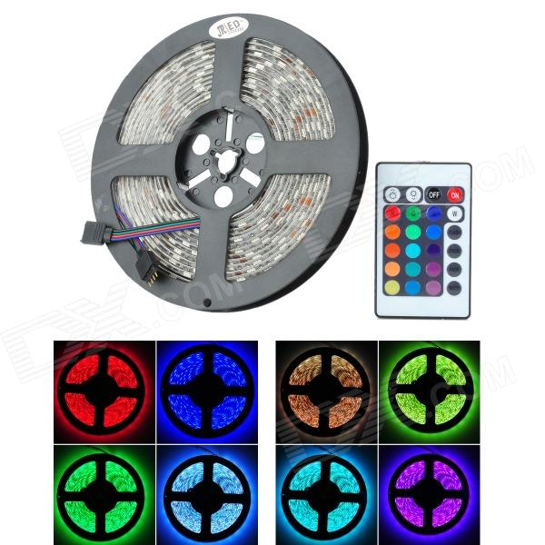 JRLED 72W 4500lm 300 x SMD 5050 LED RGB Highlight Car Decoration Light Strip (12V / 5m)