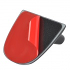 TX-001 Car Tail Decorative Fin Antenna w/ Adhesive Tape - Black