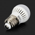 E27 3W 210lm 15-3528 SMD LED Cold White Light Lamp (AC 85~265V)