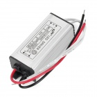 Driver LED 3W x 6 impermeabile Power - argento (AC 110 ~ 265V)