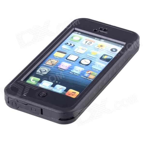 ... Redpepper Case Ultra-Thin Waterproof Dirtproof Snowproof Protective Back Case for IPHONE 5C - Black ...