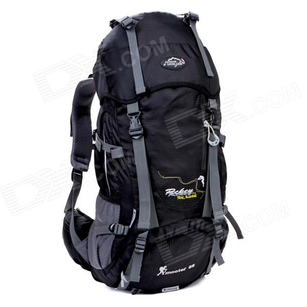 LOCAL LION Outdoor Mountaineering Nylon Backpack Bag (55L)