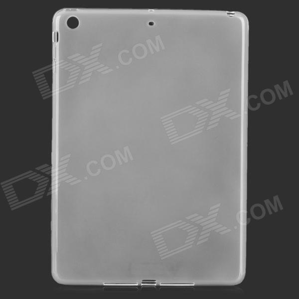 Protective PVC Back Case + PET Screen Guard Film Set for IPAD AIR - Translucent White