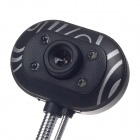 SHITIANXIA 3.0 MP USB Digital Computer / Laptop Web Camera w/ Microphone / 4 -LED Night Vision Light