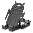 Android Robot Style Desktop Plastic Holder for Cell Phone - Black