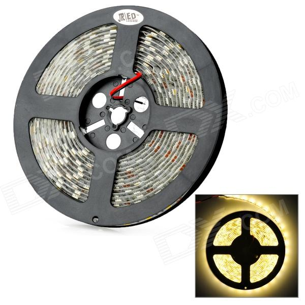 JRLED resaltar 72W 4100lm 300 x SMD 5050 LED caliente auto blanco luz tira impermeable (12V / 5m)