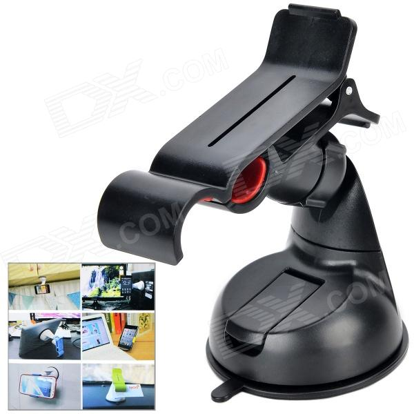 Buy Car 360 Degree Rotation Mount Holder for Cellphone - Black with Litecoins with Free Shipping on Gipsybee.com