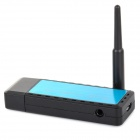 Android OS Phone Screening Miroring HDMI Wireless Display with AV Output - Black + Blue