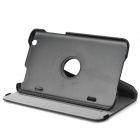 "360 Degree Rotatable Jean Case for 8"" LG G Pad 8.3 - Black"