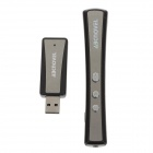 Abcnovel A160 USB RF Wireless Presenter w/ Red Laser Pointer - Black (1 x AAA)
