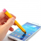 DR-2 Pencil Style Capacitive Touch Screen Stylus Pen for Cell Phones - Yellow