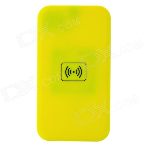 QI Standard Mobile Wireless Charger - Yellow
