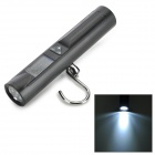 Portable 1.3'' 8-LED 0.12W 48lm Digital Luggage Scale - Black (2 x AAA / 10g-50kg)