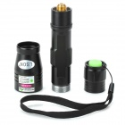 LSON SD-210 5mW 532nm Green Laser Flashlight - Black (1 x 18650)