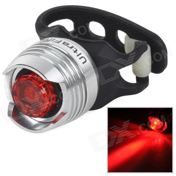 UltraFire 10lm 2-Mode Red Light Bicycle Security Tail Light - BlackBike Light<br>Form  ColorBlack + WhiteBrandOthers,UltraFireQuantity1 DX.PCM.Model.AttributeModel.UnitMaterialAluminum alloyEmitter BrandOthers,LEDLED TypeOthers,LEDEmitter BINLEDColor BINRedNumber of Emitters1Battery2 x CR2032 batteries (included)Battery included or notYesTheoretical Lumens20 DX.PCM.Model.AttributeModel.UnitActual Lumens10 DX.PCM.Model.AttributeModel.UnitRuntime3~4 DX.PCM.Model.AttributeModel.UnitNumber of Modes2Mode ArrangementHi,Slow StrobeMode MemoryNoSwitch TypeReverse clickySwitch LocationHeadBeam Range15 DX.PCM.Model.AttributeModel.UnitStrap/ClipNoApplicationBody,Handle BarHolder Diameter2~4 DX.PCM.Model.AttributeModel.UnitWaterproofYesPacking List1 x Tail light<br>