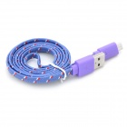 Micro USB Charging / Data Cable for Sony Xperia Z / L36H / Xperia SP / M35H + More - Purple (100cm)