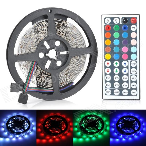 Télécommande 36W 1200lm 150-SMD 5050 décoratif LED Light Strip RVB w / 44-Key (12V)