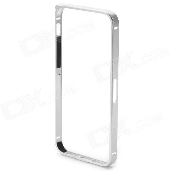 S-What Ultra Thin Lithium Alloy Bumper Frame w/ Volume Button Sheel for IPHONE 5 / 5S - Silver