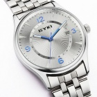 Men's Fashion Personality Quartz Watch - Silver + Blue