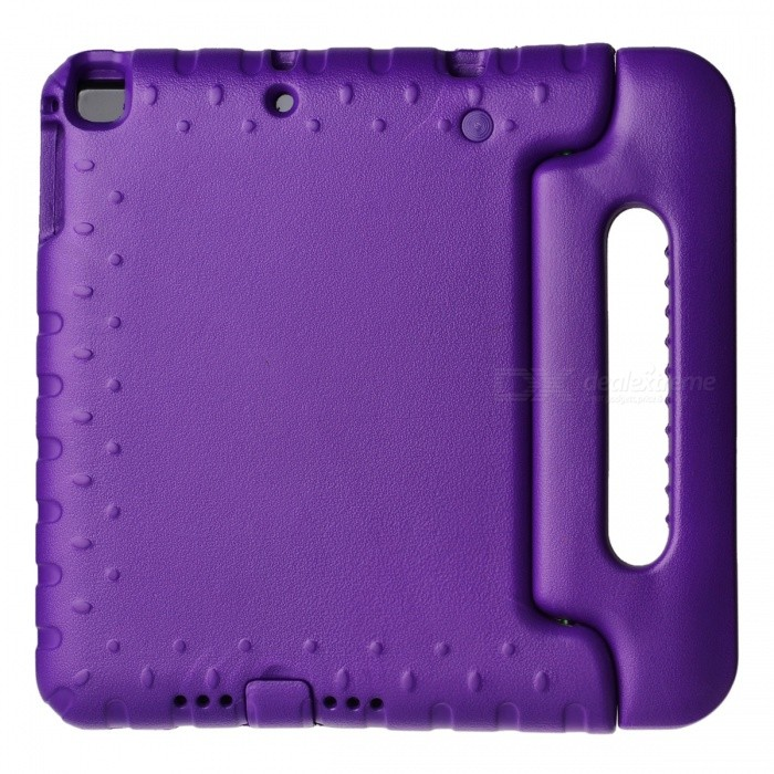 Cool Handheld Protective EVA Case for IPAD AIR - Purple / Blue