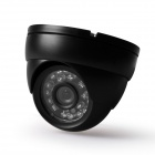 Digital-420TVL-14-CCD-Waterproof-Video-Surveillance-Security-Dome-Camera-w-24-IR-LED-Black
