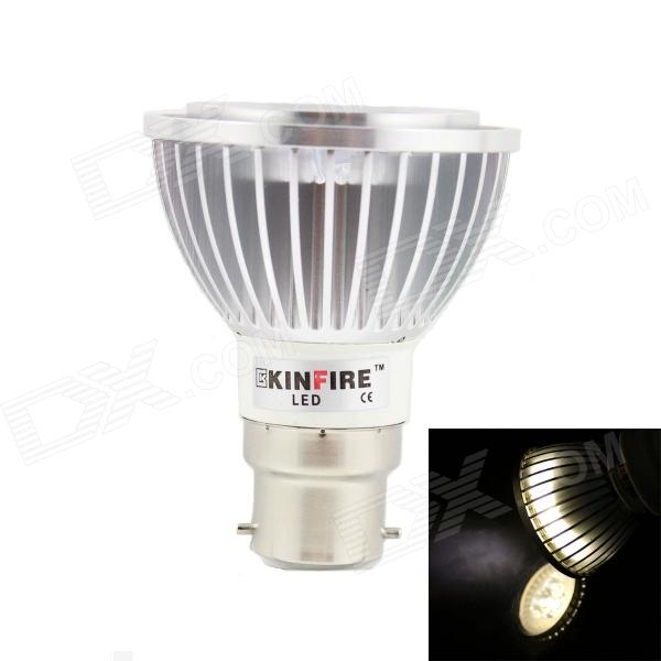 KINFIRE LED B22 3W 220lm 3000K 3-LED Warm White Spotlight (85-265V)